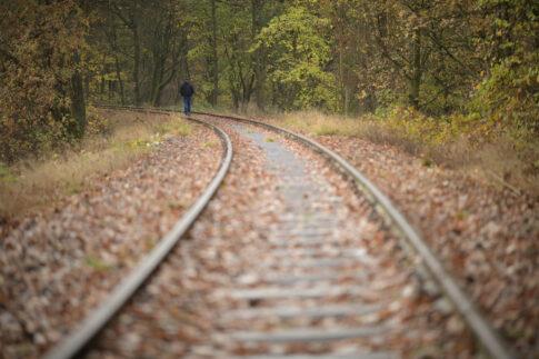 Entschleunigen Gleise